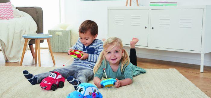 Revellinos – RC-Cars im Plüschmantel für Kleinkinder
