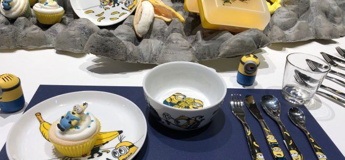 Die Minions machen sich in Kleiderschränken und Küchen breit!