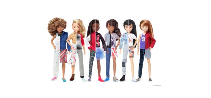 Mattel® launcht Creatable World – die erste geschlechtsneutrale Puppenlinie