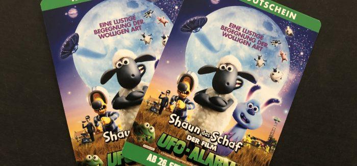 Shaun das Schaf – UFO-Alarm – Gewinner wurde kontaktiert