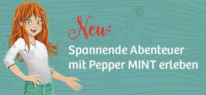 Lesen und experimentieren mit Pepper Mint