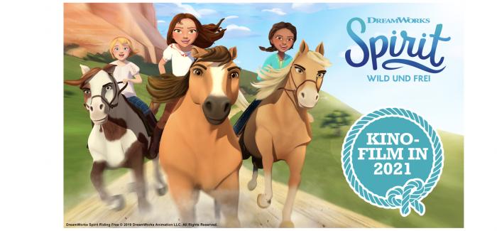 2021 wird wild und frei – Spirit, der große Mädchen-Erfolg, kommt ins Kino!