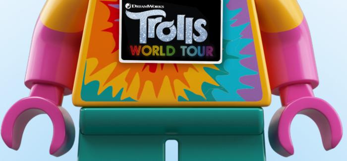 LEGO und Universal Brand Development bringen Lizenzprodukte von Trolls World Tour auf den Markt