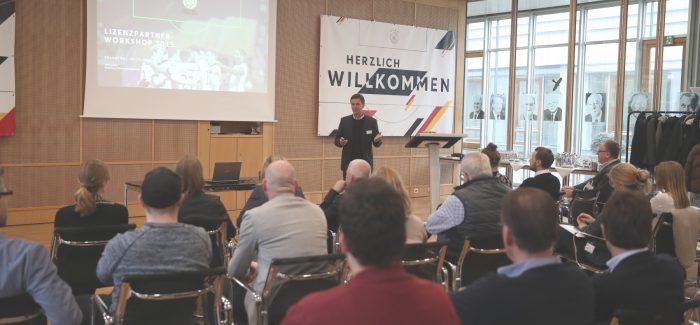 Lizenzpartner zu Gast beim DFB
