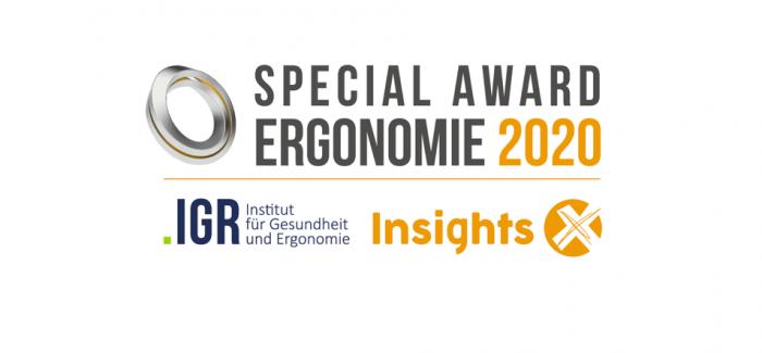 Insights-X entwickelt neuen Special Award Ergonomie für PBS-Produkte