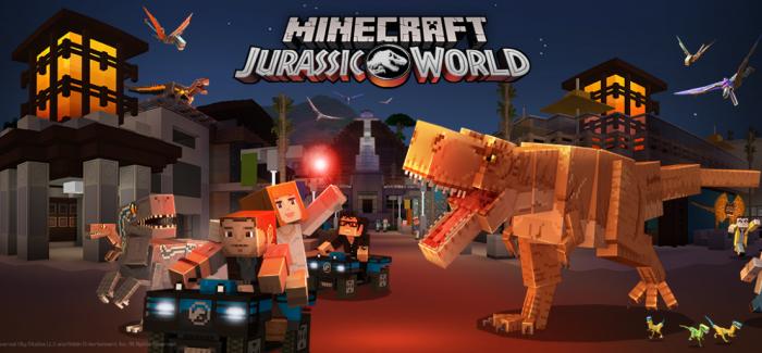 Minecraft kooperiert mit Jurassic World