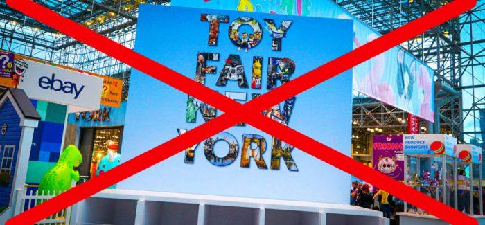 Dallas und New York Toyfair abgesagt