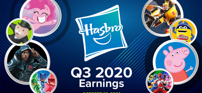 Leichter Umsatzrückgang bei Hasbro in Q3 / 2020