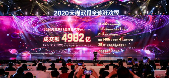 Alibaba Singles Day: 583.000 Bestellungen pro Sekunde
