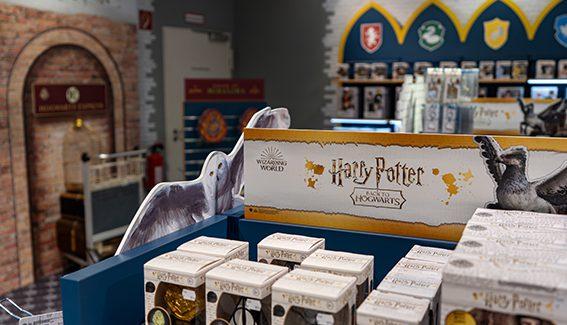 Pop-Up-Fläche der Sonderklasse: Harry Potter im KaDeWe