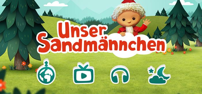 Sandmännchens neue digitale Spielewelt