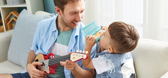 Love Play Learn – die neuen Hape Musik-Produkte