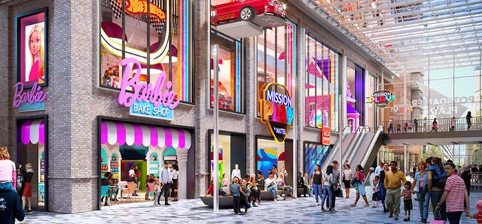 """Mattel eröffnet sein erstes """"Mission: Play!""""™ Familien-Entertainment-Center"""