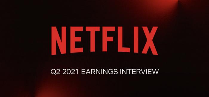 Netflix übertrifft Erwartungen für das erste Halbjahr 2021