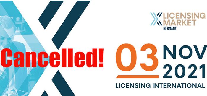 Licensing Market 2021 abgesagt